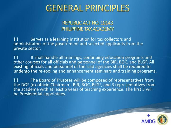 REPUBLIC ACT NO. 10143