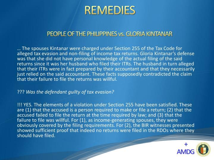 PEOPLE OF THE PHILIPPINES vs. GLORIA KINTANAR