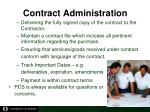 contract administration4
