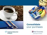 consolidate your purchases