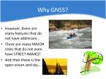 why gnss1