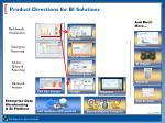 product directions for bi solutions1
