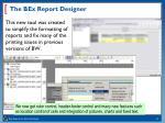 the bex report designer