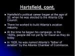 hartsfield cont