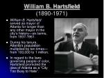 william b hartsfield 1890 1971