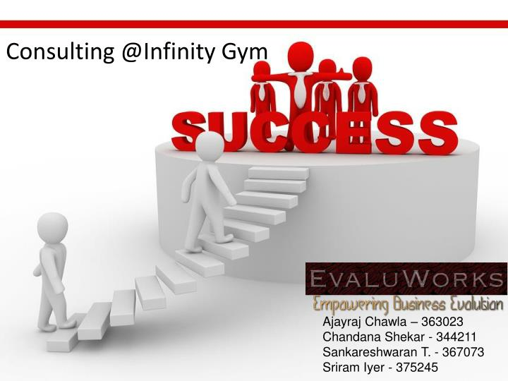 consulting @ infinity gym n.