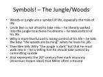 symbols the jungle woods