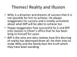 themes reality and illusion