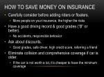 how to save money on insurance2