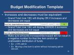 budget modification template2