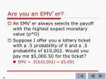 are you an emv er4