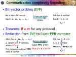 communication complexity bounding