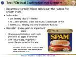 text retrieval conference measurement