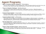 agent programs1