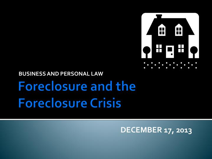 business and personal law n.