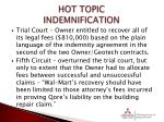 hot topic indemnification5