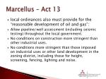 marcellus act 131