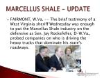 marcellus shale update
