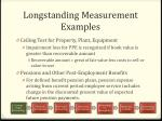 longstanding measurement examples2