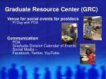 graduate resource center grc6