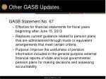 other gasb updates1