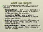 what is a budget2