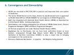 6 convergence and stewardship