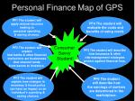 personal finance map of gps