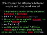 pf4c explain the difference between simple and compound interest2