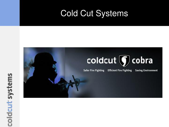 cold cut systems n.