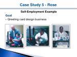 case study 5 rose1