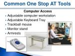 common one stop at tools4