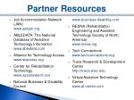 partner resources