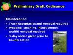 preliminary draft ordinance10