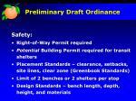 preliminary draft ordinance5