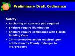 preliminary draft ordinance6