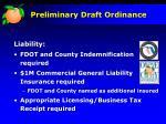 preliminary draft ordinance8