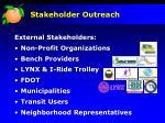 stakeholder outreach1