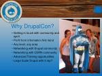 why drupalcon