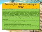 extracts from rbi act relating to nbfc1