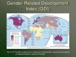 gender related development index gdi