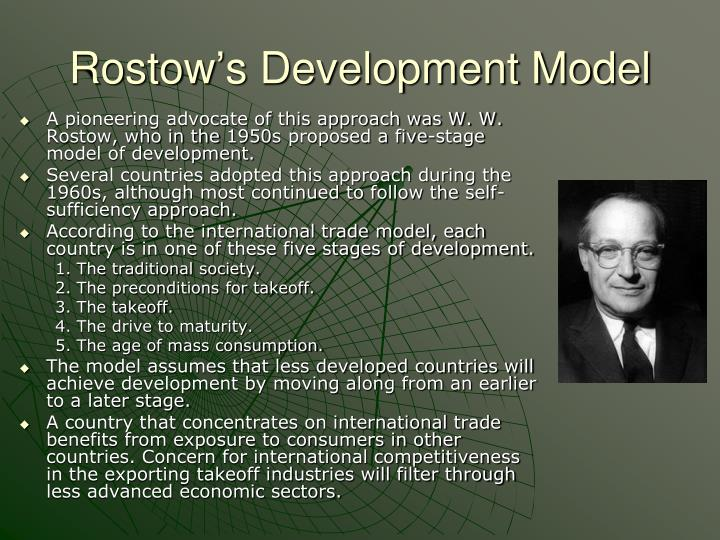 Rostow's Development Model