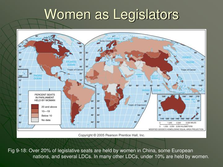 Women as Legislators