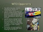 wto opponents