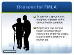 reasons for fmla1