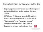 data challenges for agencies in the us