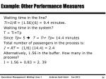 example other performance measures