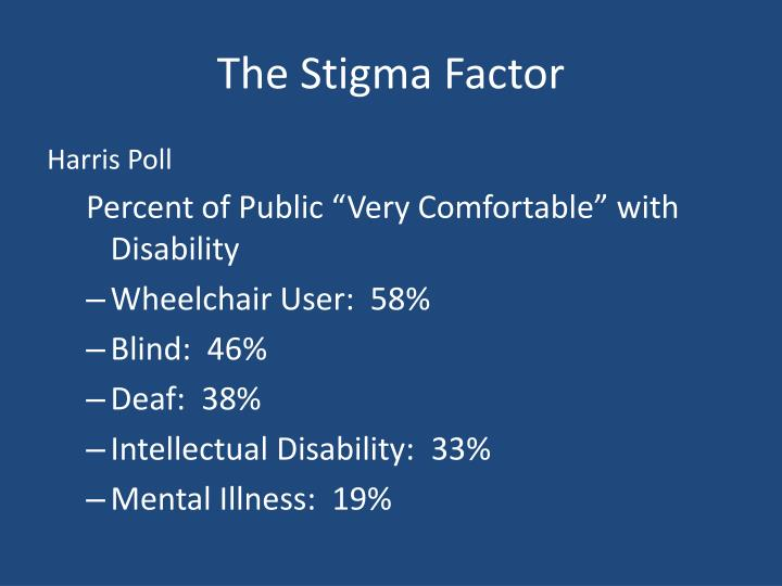The Stigma Factor