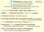 2 c warming 450 ppm co 2 e