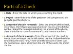 parts of a check1
